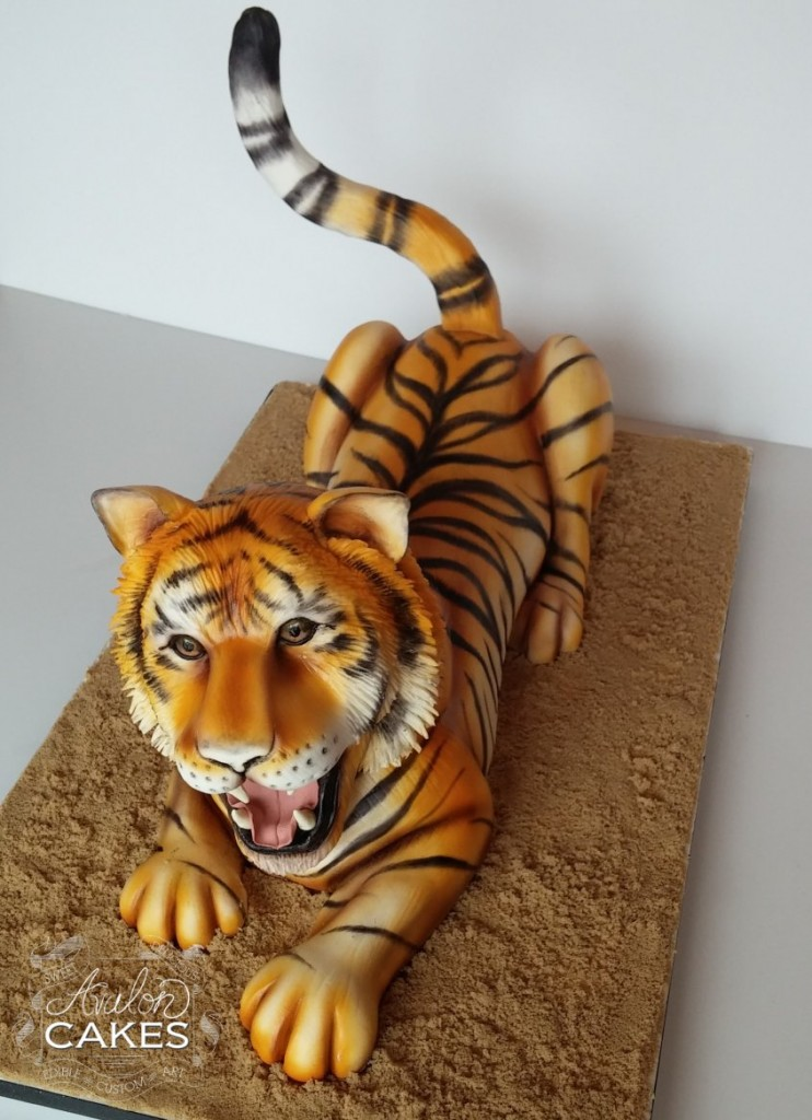 Cake Designs Tiger : Tiger Cake Fuzzy Today